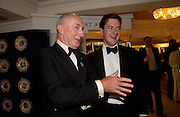 Sir Peter Osborne  and his son M.P. ( Shadow Chancellor) George Osborne. The Grosvenor House Art and Antiques Fair charity Gala evening in aid of the NSPCC. 16 June2005. ONE TIME USE ONLY - DO NOT ARCHIVE  © Copyright Photograph by Dafydd Jones 66 Stockwell Park Rd. London SW9 0DA Tel 020 7733 0108 www.dafjones.com