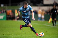 SYDNEY, AUSTRALIA - MAY 21: Sydney FC player Mitchell Austin (21) controls the ball at AFC Champions League Soccer between Sydney FC and Kawasaki Frontale on May 21, 2019 at Netstrata Jubilee Stadium, NSW. (Photo by Speed Media/Icon Sportswire)