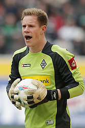 07.04.2012, Borussia-Park, Moenchengladbach, GER, 1. FBL, Borussia Moenchengladbach vs Hertha BSC, 29. Spieltag, im Bild Marc-Andre ter Stegen (Borussia Moenchengladbach), Portrait // during the German Bundesliga Match, 29th Round between VBorussia Moenchengladbach and Hertha BSC at the Borussia Park, Moenchengladbach, Germany on 2012/04/07. EXPA Pictures © 2012, PhotoCredit: EXPA/ Eibner/ Oliver Vogler..***** ATTENTION - OUT OF GER *****