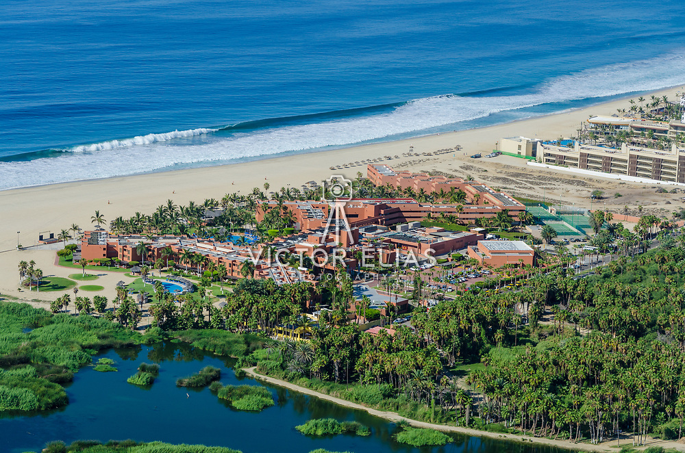 Aerial View of the Holiday Inn hotel. San Jose del Cabo. Baja California Sur, Mexico.