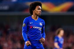 Willian of Chelsea - Mandatory by-line: Robbie Stephenson/JMP - 18/04/2019 - FOOTBALL - Stamford Bridge - London, England - Chelsea v Slavia Prague - UEFA Europa League Quarter Final 2nd Leg