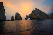 Sunrise, El Arco, The Arch, Cabo San Lucas, Baja, Mexico