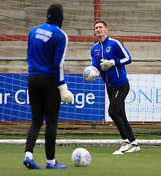 Bristol Rovers goalkeeper Jack Bonham warms up - Mandatory by-line: Matt McNulty/JMP - 27/04/2019 - FOOTBALL - Highbury Stadium - Fleetwood, England - Fleetwood Town v Bristol Rovers - Sky Bet League One
