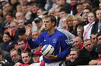 Photo: Andrew Unwin.<br /> <br /> Liverpool v Everton. The Barclays Premiership. 25/03/2006.<br /> <br /> Everton's Phil Neville.