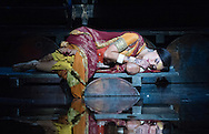 The Pearl Fishers - Bizet performed by the English National Opera directed by Penny Woodcock. <br /> <br /> <br /> Claudia Boyle - Le&iuml;la<br /> <br /> <br /> <br /> Conductor - Roland B&ouml;er<br /> <br /> <br /> <br /> Set Designer - Dick Bird<br /> <br /> Costume Designer - Kevin Pollard<br /> <br /> Lighting Designer - Jennifer Schriever<br /> <br /> Choreographer - Andrew Dawson