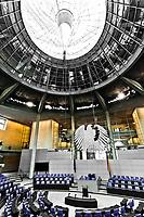 bundestag german parliament room Reichstag  berlin germany