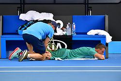 January 17, 2019 - Melbourne, Australia - Australian Open - Marton Fucsovics - Hongrie (Credit Image: © Panoramic via ZUMA Press)