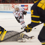 NCAA Men's Hockey: Merrimack vs. Northeastern 11/23/2013