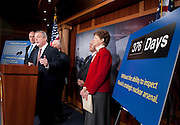 "Dec 16, 2010 - Washington, District of Columbia, U.S. -  Senator JEANNE SHAHEEN (D-NH) Senator BOB CASEY, D-PA) Senator BEN CARDIN (D-MD) Senator CHRIS COONS (D-DE) and Senator DICK DURBIN (D-IL) hold a news conference to discuss the ""importance of ratifying the New Strategic Arms Reduction Treaty (START Treaty) now and rebut arguments for its delay."" (Credit Image: © Pete Marovich/ZUMA Press)"