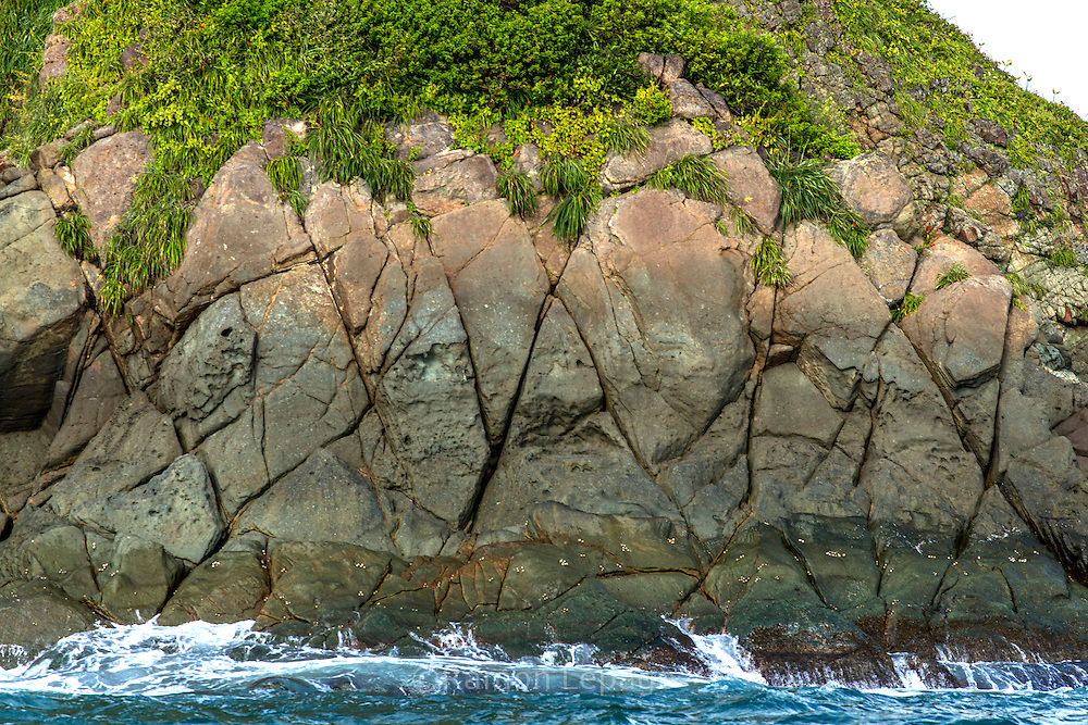 Parque Nacional Marino Golfo de Chiriquí con sus muchas islas, playas y variedad de flora y fauna. Es un destino Turístico por sus playas y pesca de altura.  Provincia de Chiriquí, Panamá.