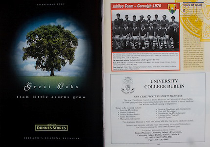 All Ireland Senior Hurling Championship - Final, .03.09.1995, 09.03.1995, 3rd September 1995, .03091995AISHCF, .Senior Clare v Offaly,.Minor Kilkenny v Cork,.Clare 1-13, Offaly 2-8, ..Dunnes Stores, University College Dublin,