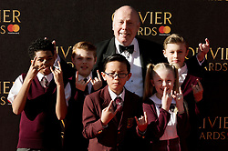 © Licensed to London News Pictures. 09/04/2017. LORD JULIAN FELLOWS attends The Olivier Awards held at the Royal Albert Hall. London, UK. Photo credit: Ray Tang/LNP