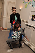 FRANCES STARK; ROKSANDA ILINCICStefania Pramma launched her handbag brand PRAMMA  at the Kensington residence of her twin sister, art collector Valeria Napoleone.. London.  29 April 2015