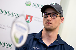Jan Pokersnik at press conference of OZS about Beachvolley team Pokersnik - Zemljak, on July 08, 2017 in Sberbank, Ljubljana, Slovenia. Photo by Matic Klansek Velej / Sportida
