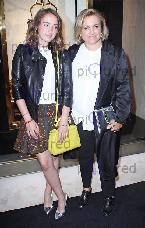 Leonetta Fendi (left), Fendi - Store Launch Party, New Bond Street, London UK, 01 May 2014, Photo by Brett D. Cove