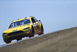 June 23, 2017 - Sonoma, CA, United States of America - June 23, 2017 - Sonoma, CA, USA: Landon Cassill (34) takes to the track to practice for the Toyota/Save Mart 350 at Sonoma Raceway in Sonoma, CA. (Credit Image: © Justin R. Noe Asp Inc/ASP via ZUMA Wire)