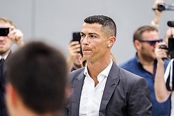July 16, 2018 - Turin, Italy - Cristiano Ronaldo arrives at Juventus medical center in Turin, Italy, on July 16, 2018. (Credit Image: © Mauro Ujetto/NurPhoto via ZUMA Press)