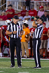 NORMAL, IL - September 07: Jared Flech, John Winter during a college football game between the ISU (Illinois State University) Redbirds and the Morehead State Eagles on September 07 2019 at Hancock Stadium in Normal, IL. (Photo by Alan Look)