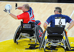 Great Britain v Australia - Photo mandatory by-line: Joe Meredith/JMP - Mobile: 07966 386802 - 12/09/2014 - The Invictus Games - Day 2 - Wheelchair Rugby - London - Copper Box Arena