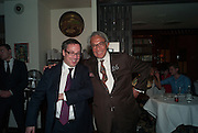 EDWARD LLEWELLYN; SIR DAVID TANG, Chinese New Year dinner given by Sir David Tang. China Tang. Park Lane. London. 4 February 2013.