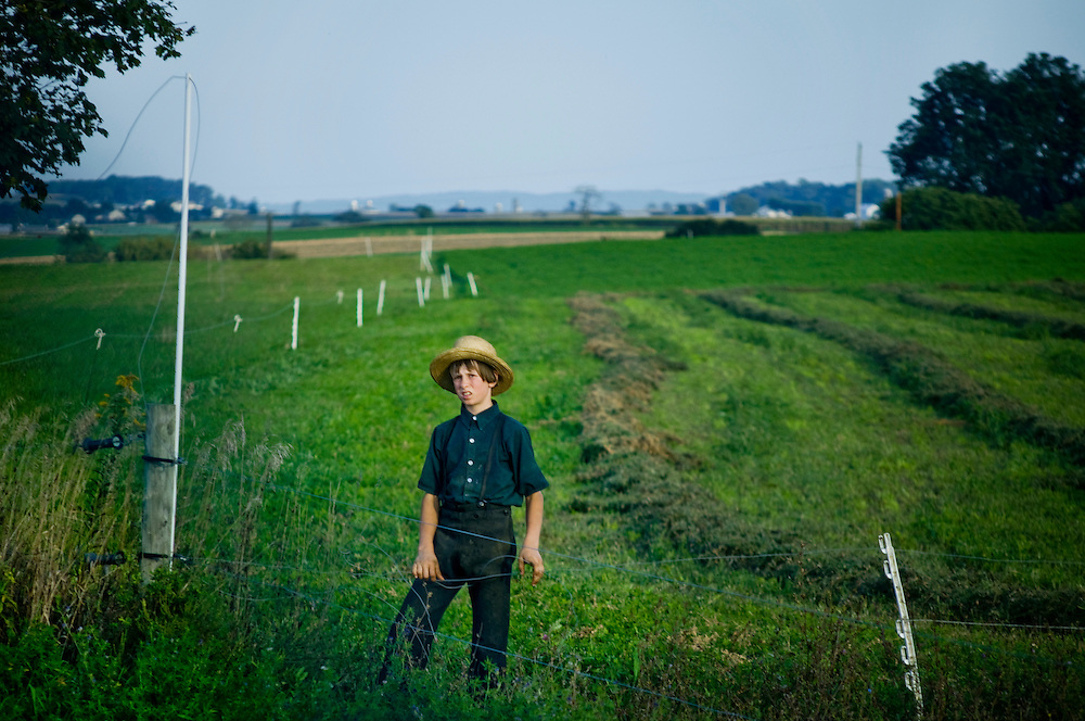Amish, Lancaster county, Pennsylvania..Photographer: Chris Maluszynski /MOMENT