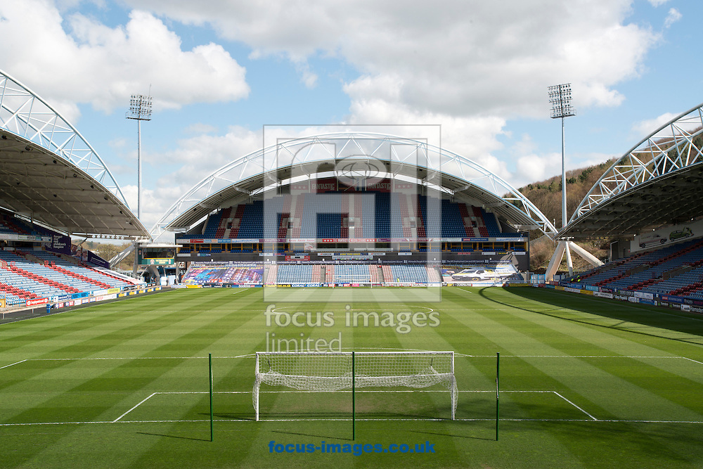 A general view of the stadium before the Sky Bet Championship match at the John Smiths Stadium, Huddersfield<br /> Picture by Russell Hart/Focus Images Ltd 07791 688 420<br /> 09/04/2016