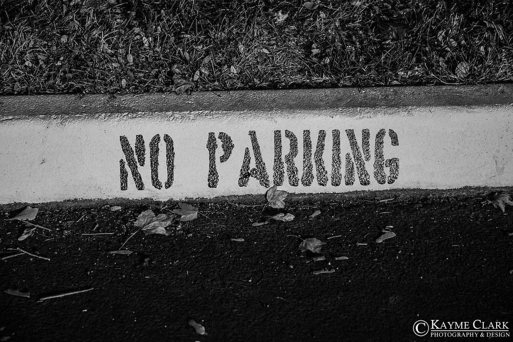 No parking spot