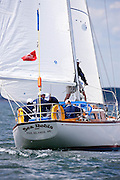 Sea Robin sailing in the Corinthian Classic Yacht Regatta.