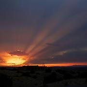 Sunset in Placitas, NM (near Albuquerque)