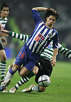 PORTO 08 NOVEMBER  2004: DIEGO #16 gets ready to score the second goal from FC Porto in the 9¼ leg of the Super Liga, season 2004/2005, match FC Porto v  Sporting CP, held in Drag‹o stadium,  08/11/2004  20:30<br />