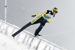 February 8, 2019 - Lahti, Finland - Noriaki Kasai participates in FIS Ski Jumping World Cup Large Hill Individual training at Lahti Ski Games in Lahti, Finland on 8 February 2019. (Credit Image: © Antti Yrjonen/NurPhoto via ZUMA Press)