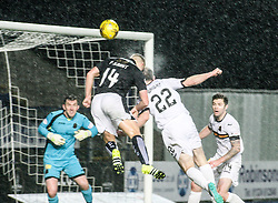 Falkirk's Peter Grant. <br /> Falkirk 1 v 0 Dumbarton, Scottish Championship game played 26/12/2015 at The Falkirk Stadium.