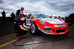 Dino Zamparelli | GT Marques | #88 Porsche 911 GT3 Cup | Porsche Carrera Cup GB | Free Practice 2 - Mandatory byline: Rogan Thomson/JMP - 17/06/2016 - MOTORSPORT - Croft Circuit - Dalton-on-Tees, England - BTCC Meeting Test Day.