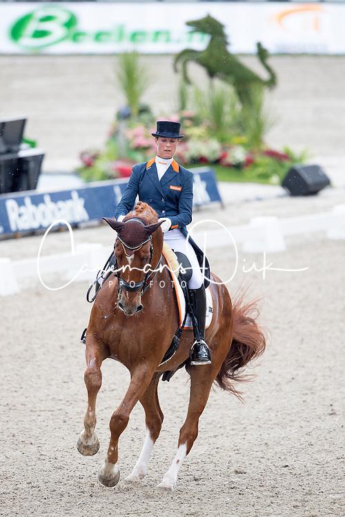 Cornelissen Adelinde, (NED), Jerich Parzival <br /> Nations Cup CDIO5* - CHIO Rotterdam 2016<br /> &copy; Hippo Foto - Leanjo de Koster<br /> 23/06/16