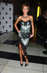 Model JASMINE LENNARD at the 2005 British Fashion Awards held at The V&A museum, London on 10th November 2005.<br />