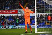 Burton Albion's Stephen Bywater during the EFL Sky Bet Championship match between Ipswich Town and Burton Albion at Portman Road, Ipswich, England on 10 February 2018. Picture by John Potts.