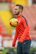 Coventry City forward, on loan from Newcastle United, Adam Armstrong  during the Sky Bet League 1 match between Sheffield Utd and Coventry City at Bramall Lane, Sheffield, England on 13 December 2015. Photo by Simon Davies.