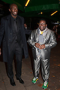 ISAAC JULIEN;  USAIN BOLT, Fundraising Gala for the Zeitz foundation and Zoological Society of London hosted by Usain Bolt. . London Zoo. Regent's Park. London. 22 November 2012.