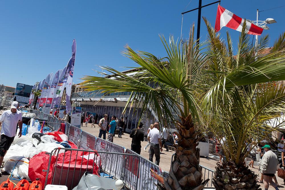 FRANCE, Marseille. 19th June 2011. AUDI MedCup Marseille Trophy. Racing postponed.