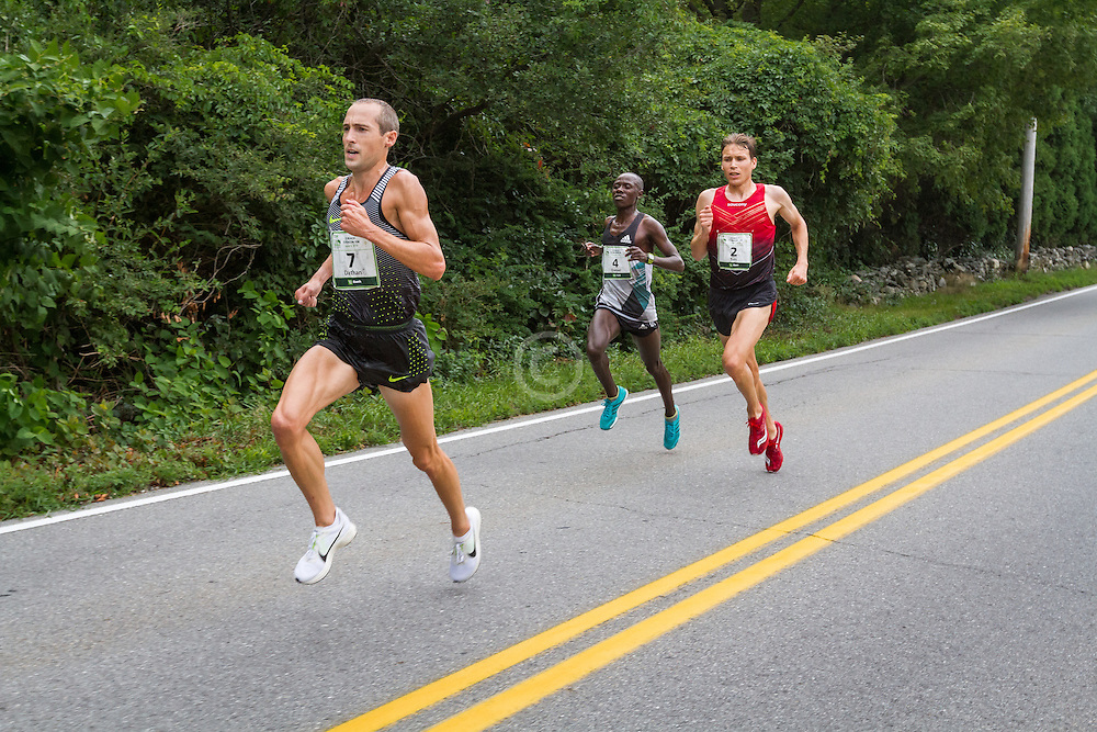 Dathan Ritzenhein leads chase pack at mile 4.5