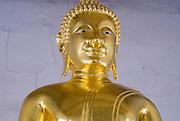 Buddhist statue in shrine on Koh Kred Island.