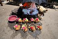 Flower sellers, Mysore