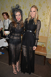Left to right, SOPHIE GOODWIN andALICE NAYLOR-LEYLAND at the Bumpkin Halloween Dinner hosted by Marissa Hermer held at Bumpkin, 119 Sydney Street, London on 23rd October 2014.