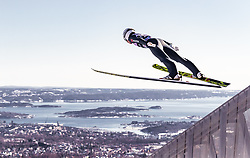 10.03.2019, Holmenkollen, Oslo, NOR, FIS Weltcup Skisprung, Raw Air, Oslo, Einzelbewerb, Herren, im Bild Martin Hamann (GER) // Martin Hamann of Germany during the men's individual competition of the Raw Air Series of FIS Ski Jumping World Cup at the Holmenkollen in Oslo, Norway on 2019/03/10. EXPA Pictures © 2019, PhotoCredit: EXPA/ JFK