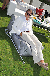 BRENDAN COLE at the Audi International Polo Day held at Guards Polo Club, Smith's Lawn, Windsor on 22nd July 2012.