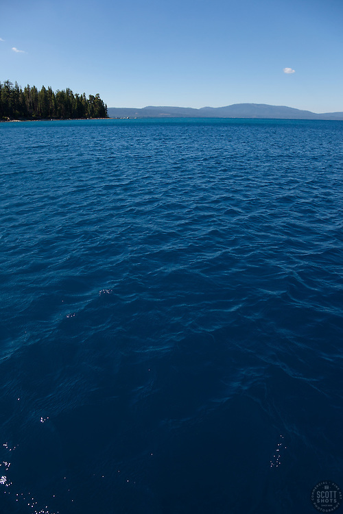 """Lake Tahoe 10"" - This scene was photographed near the West shore of Lake Tahoe, California."