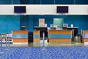 Airport terminal check-in desk - Cairns International