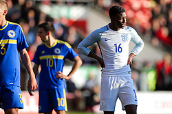 Demarai Gray of England U21 looks on - Rogan Thomson/JMP - 11/10/2016 - FOOTBALL - Bescot Stadium - Walsall, England - England U21 v Bosnia and Herzegovina - UEFA European Under 21 Championship Qualifying.