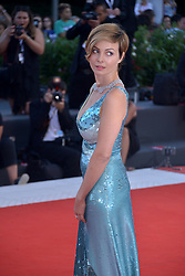 Violante Placido attending the Vox Lux premiere during the 75th Venice Film Festival