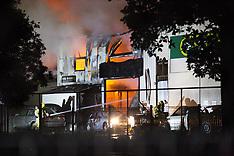 Tauranga-Fire destroys Midnight Motors workshop, Greertonp